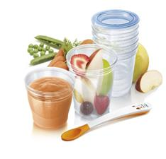 Philips Avent Toddler Food Storage Set