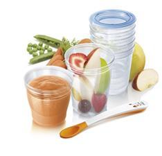Philips Avent Toddler Food Storage Set