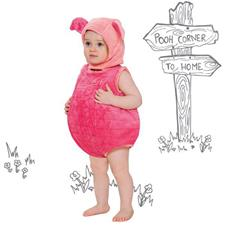 Piglet Tabard with Hat - 18-24mths