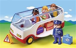 Playmobil 1.2.3 Airport Shuttle Bus