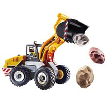 Playmobil City Action Construction Front End Loader with Movable Bucket