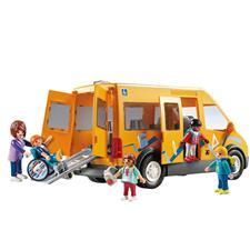 Playmobil City Life School Van with Folding Ramp
