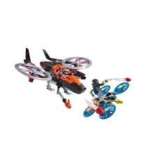 Playmobil Galaxy Police Space Pirates Helicopter