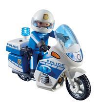 Playmobil Police Bike with LED Light
