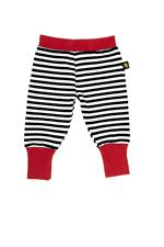Rockabye Baby Baggy Trousers Black and Red 0-3m