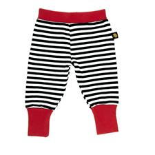 Rockabye Baby Baggy Trousers Black and Red 6-12m