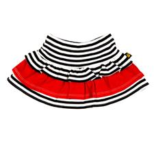 Rockabye Baby Rara Skirt Black and Red 0-3m