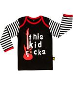 Rockabye Baby This Kid Rocks Long Sleeve T-Shirt 0-3m