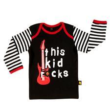 Rockabye Baby This Kid Rocks Long Sleeve T-Shirt 3-6m