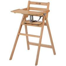 Safety 1st Nordik Folding Wooden Highchair Natural