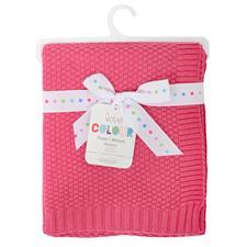 Silvercloud Cotton Blanket Raspberry