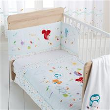 Silvercloud Sleepy Forest Friends 3 Piece Bedding Set