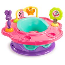Summer Infant 3-Stage Super Seat™ Forest Friends Pink