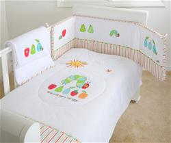 The Very Hungry Caterpillar 3 Piece Bedding Set