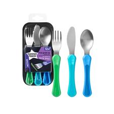 Tommee Tippee 1st Grown Up Cutlery Set 3Pk