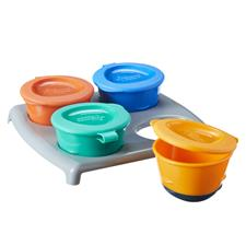 Tommee Tippee 4 Pop Up Freezer Pots & Tray