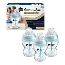 Tommee Tippee Advanced Anti-Colic Bottle 260ml 3Pk