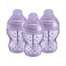 Tommee Tippee Advanced Anti-Colic Bottle Girl 260ml 3Pk