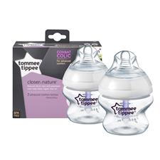 Tommee Tippee Closer to Nature Advanced Comfort Bottle 150ml 2Pk