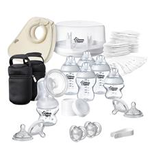 Tommee Tippee Closer to Nature Microwave Steriliser & Manual Breast Pump