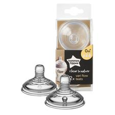 Tommee Tippee Closer to Nature Variflow Teat 2Pk