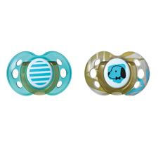 Tommee Tippee Moda Soother Sky 18-36m 2Pk