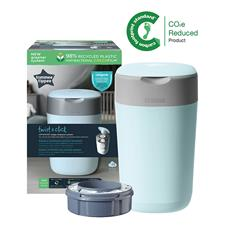 Tommee Tippee Twist & Click Nappy Disposal Tub Cloud Blue