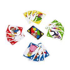 Uno Card Game Super Mario Bros