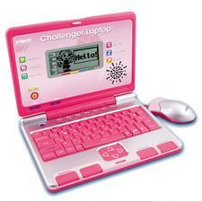 VTech Challenger Laptop Pink
