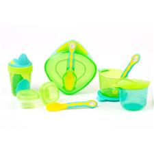 Vital Baby 8 Piece Start Weaning Kit Green