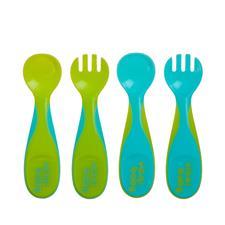 Vital Baby NOURISH Chunky Cutlery Set Pop 4Pk