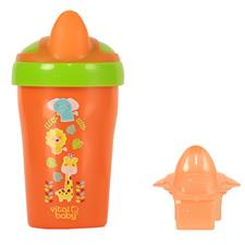 Vital Baby Soft Spout Toddler Trainer Cup Orange