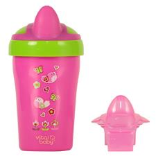 Vital Baby Soft Spout Toddler Trainer Cup Pink