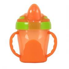 Vital Baby Soft Spout Trainer Cup Orange
