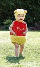 Winnie the Pooh Tabard with Hat - 18-24mths
