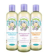Earth Friendly Baby Organic Bubble Bath 300ml - Chamomile