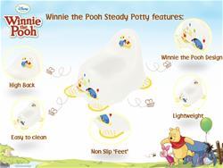 Solution Disney Steady Potty - Winnie the Pooh