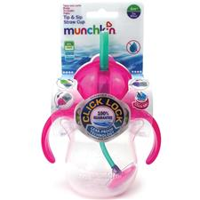 Munchkin Click Lock Tip & Sip Straw Cup 7oz