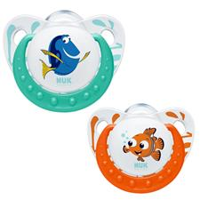 NUK Finding Dory Orthodontic Soother 2pk 6-18months
