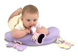 Little Bird Told Me Billowy Butterfly Playmat and Gym