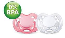 Philips Avent Freeflow Soothers 0-6m Twin Pack
