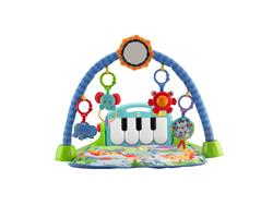 Fisher-Price Kick and Play Piano Blue Gym