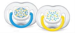 Philips Avent Free Flow Soother Twin Pack - 0-6 months