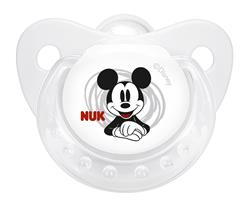 Disney NUK Soothers Twin Pack - Size 1 (2 Colours)