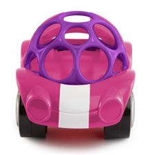 Oball Pink Rattle & Roll Cars