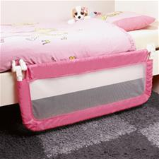 Safety First Adjustable Portable Bed Rail Pink