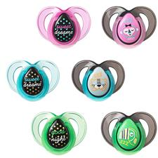 CTN Night Time Soother Twin Pack 6-18m