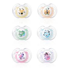 CTN Fun Style Soother Twin Pack - 0-6 months