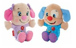 Fisher-Price Laugh n Learn Sing n' Sleep Puppy Asst