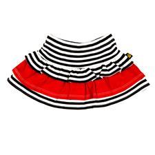 Rockabye Baby Rara Skirt Black and Red - 0-3mths